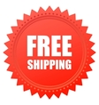 Free shipping vector image