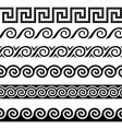 Greek design elements vector image vector image