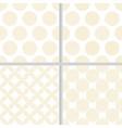 minimal golden geometry line seamless pattern vector image