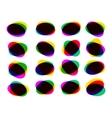 Multicolor abstract Speech Bubble EPS 8 vector image vector image
