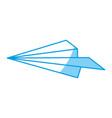 paper plane icon vector image vector image