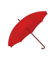 umbrella in cartoon style opened parasol vector image vector image