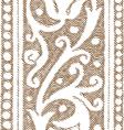vintage ornament vector image