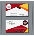 Visiting card design template