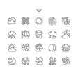 weather forecast well-crafted pixel perfect vector image