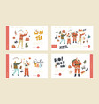 xmas family event new year or christmas bash vector image vector image