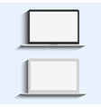 Two Laptops vector image