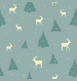 aquamarine seamless christmas pattern vector image