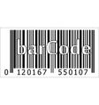 barcode of the product vector image