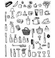 household doodles vector image vector image