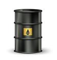 petrol barrel vector image vector image