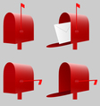 Red Mailbox EPS10 vector image