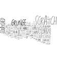 scratch word cloud concept vector image