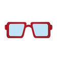 squared sunglasses icon image vector image vector image