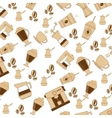 coffee theme wallpaper icon vector image