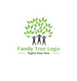 family tree editable logo vector image