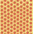 floral seamless pattern flower bloom background vector image