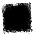 grunge paint frame vector image vector image