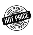hot price rubber stamp vector image vector image