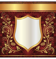 ornate background vector image vector image
