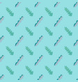 seamless pattern fun green and grey leaves on a vector image vector image