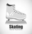 skating sport design vector image