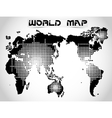WORLD MAP AND EARTH GLOBES 2 vector image