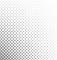 Black and white circle pattern design background vector image vector image