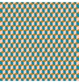 Cubes pattern in brown vector image vector image