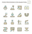 food processing industry bakery on production