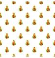 Jesus Christ pattern cartoon style vector image