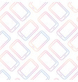 pattern background with tablets mobile phones vector image