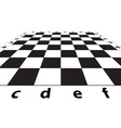 Chess field vector image vector image