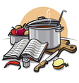 cookbook vector image vector image