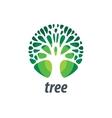 logo tree vector image vector image