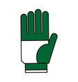 single glove icon image vector image vector image