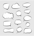 speech bubbles comic talking bubble dialogue vector image vector image