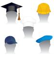various headdress vector image vector image
