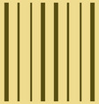 vertical brown and beige stripes print vector image vector image