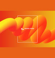 abstract gradient yellow and orange color stripe vector image vector image