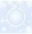 background for christmas text vector image vector image