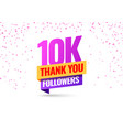 celebrating events ten thousand vector image vector image