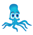 Crying octopus vector image vector image