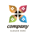 logo construction company vector image vector image