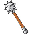 Medieval mace vector image vector image