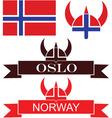 Norway vector image