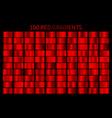 red gradient set christmas gradients vector image