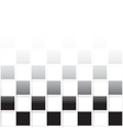 Seamless mosaic from black and white squares vector image vector image