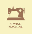 sewing machine icon sign vector image