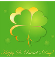 st patricks day sticker vector image